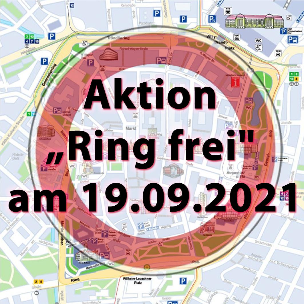 Leipzig-Stadtplan